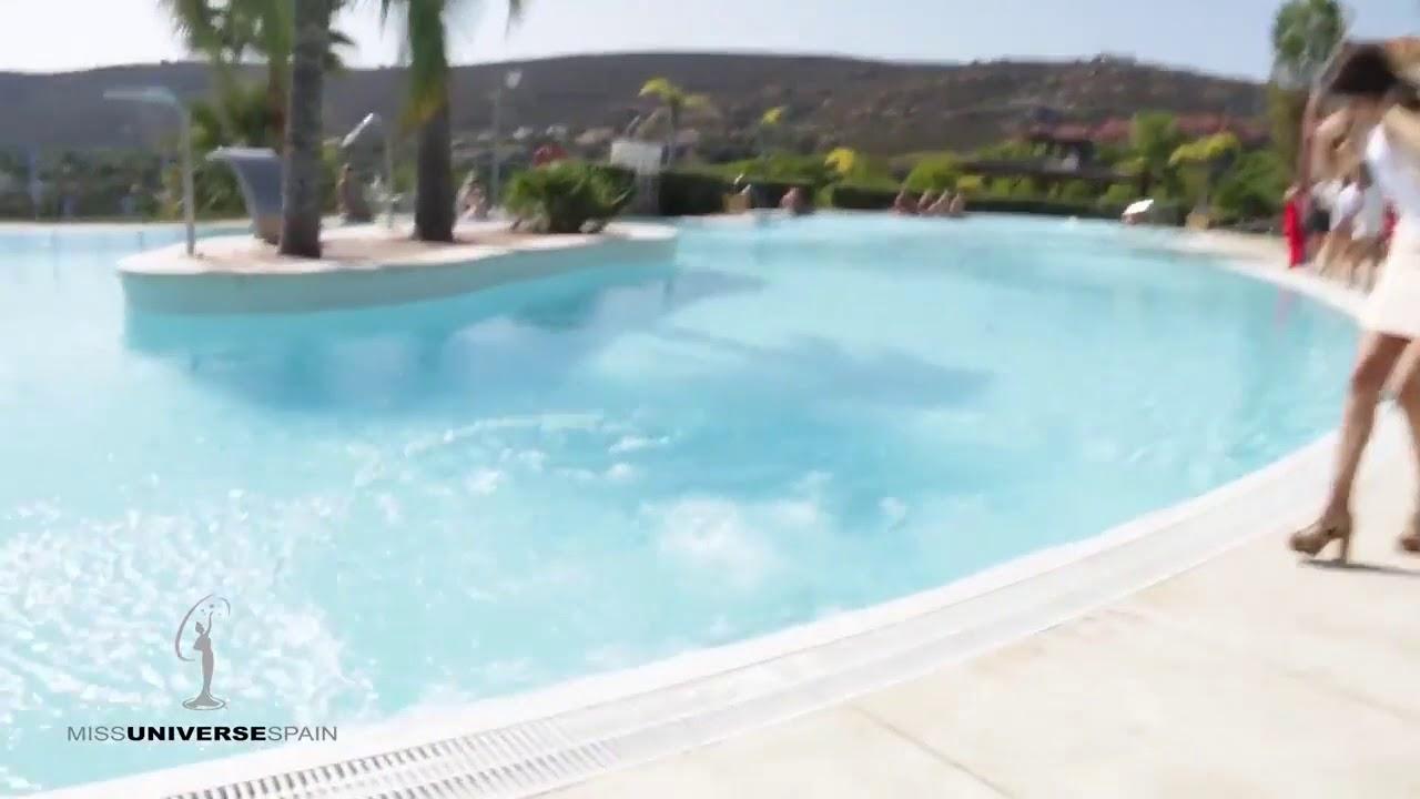 Miss al agua, la caída de Pilar Magro a una piscina triunfa en las redes