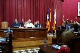 PP y Ciudadanos critican que los concejales socialistas de Llucmajor voten a favor del referéndum catalán