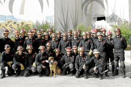 La Unidad Militar de Emergencias se prepara en Mallorca para actuar en catástrofes