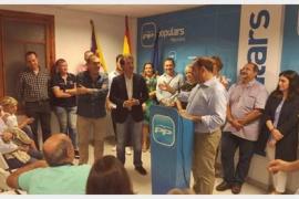 Xisco Ferrà sustituye a Bauzá como presidente de la junta local del PP de Marratxí