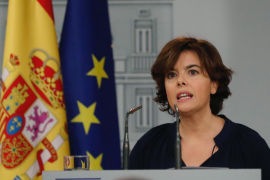 El Gobierno pide a la Generalitat que cese la farsa del 1-O