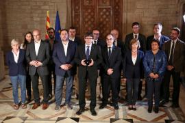 Puigdemont prevé declarar la independencia en los próximos días
