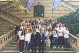Unos 70 jóvenes deportistas reciben el reconocimiento del Consell por los méritos logrados