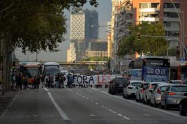 Huelga general en Cataluña contra la violencia policial