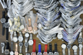 La Policía Local se incauta en Palma de 195 relojes falsificados