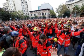 Rovira afirma que el seguimiento de la huelga muestra la defensa de los derechos de país