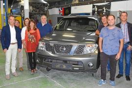 Nissan dona un Pathfinder al Centro CEIR-ARCO Villarroel