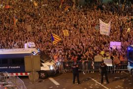La Guardia Urbana cifra en unos 700.000 los manifestantes en Barcelona