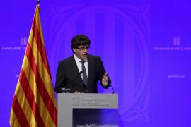 Puigdemont dice a la BBC que declarará la independencia «en cuestión de días»