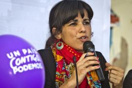 Teresa Rodríguez, sobre el mensaje del Rey: «Un día votaremos también sobre su mandato de sangre»