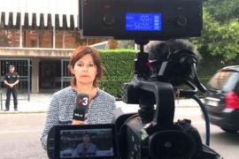 Escupen al micro de una redactora de TV3 en la sede de la Audiencia Nacional