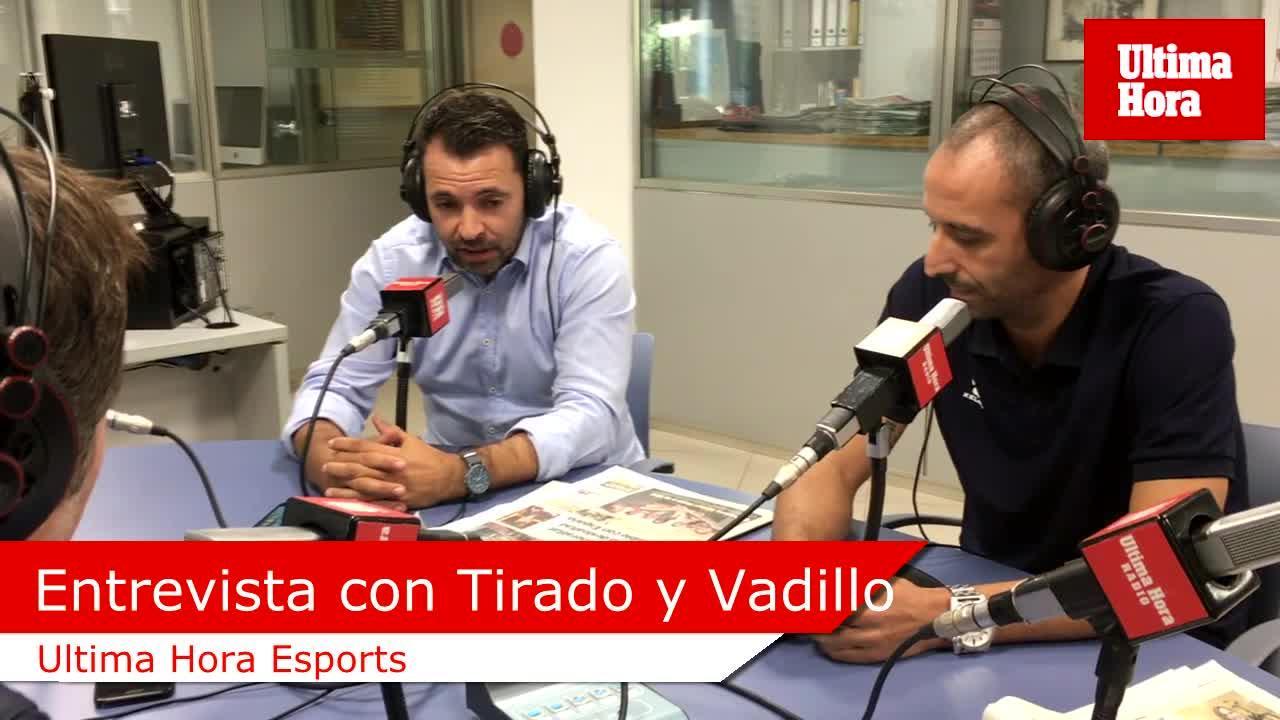 José Tirado: «Fui compañero de equipo de Vadillo hace 15 años y sabía que iba a ser entrenador»