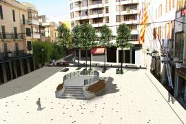 La oposición vecinal obliga al Ajuntament d'Inca a mantener el palco en la Plaça d'Espanya