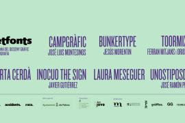 La segunda edición del festival Setfonts llenará Palma de tipografía y diseño