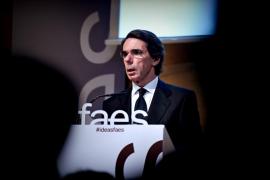 La FAES de Aznar emplaza a Rajoy a actuar «ya» en Cataluña o convocar elecciones