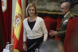 Cospedal: «Las Fuerzas Armadas deben garantizar la soberanía e independencia de España»