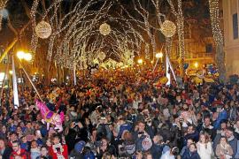 Las luces de Navidad se encenderán en Palma el día de antes del Black Friday