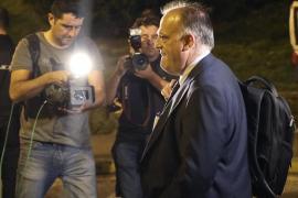 Tebas opina que Piqué no tendría hueco en selección si fuese independentista