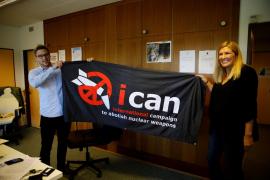 La Campaña Internacional para abolir las Armas Nucleares, Premio Nobel de la Paz