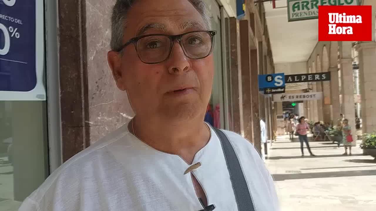 Los clientes baleares de los bancos catalanes se muestran tranquilos