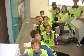 El colegio Sant Bonaventura de Artà visita el Grupo Serra y Endesa