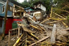 Asciende a 25 el número de muertos por la tormenta tropical 'Nate' a su paso por Centroamérica