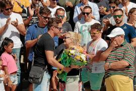 Homenaje en Palma a los dos bomberos que murieron en acto de servicio