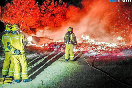 Un incendio destruye las oficinas del parque de aventuras de la Porciúncula