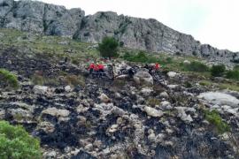 Fallece el ocupante de un ultraligero en Escorca