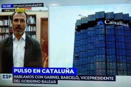 Barceló pide una «salida dialogada» para Cataluña y apela a la mediación internacional