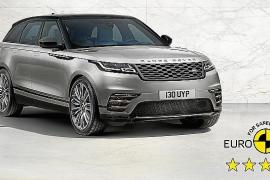 El Range Rover Velar consigue las 5 estrellas en las pruebas de EuroNCAP