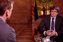Puigdemont confirma que llevará al pleno de este martes una declaración de independencia