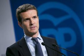Casado advierte a Puigdemont de que puede acabar en prisión como Companys