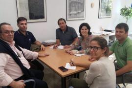Cort y Médicos del Mundo abordan el realojo de Son Banya