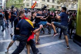 La concentración de ultras en Valencia no había sido comunicada