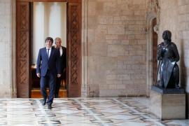 Puigdemont ultima una declaración de independencia con la previsión de iniciar un «proceso constituyente»