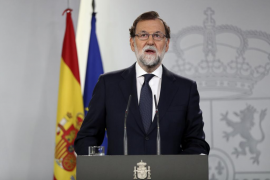 Rajoy comparecerá este miércoles en el Congreso para hablar de la crisis en Cataluña
