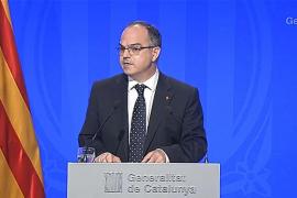Turull no desvela ningún aspecto de la intervención de Puigdemont en el Parlament