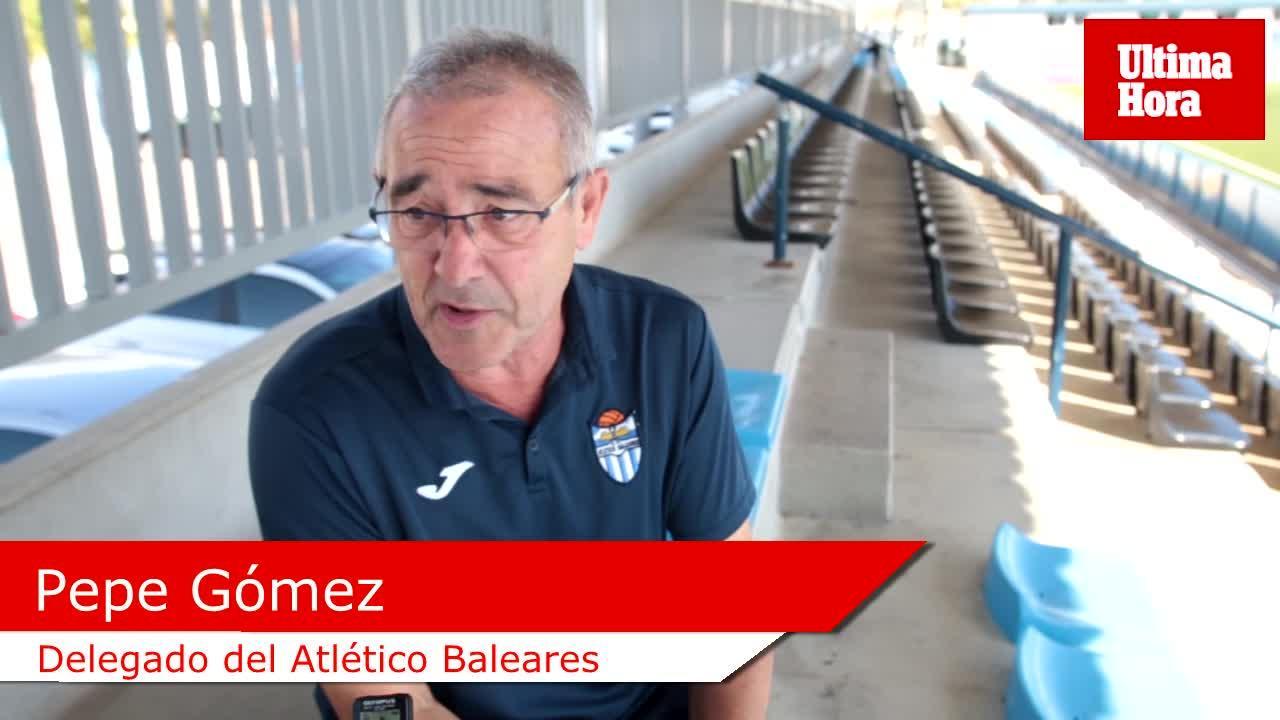 Pepe Gómez, delegado del Atlético Baleares: «He aprendido a ver los partidos con calma»