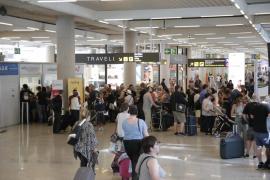 Decenas de vuelos cancelados en Baleares por la huelga de controladores franceses