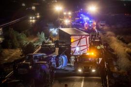 En libertad con cargos el camionero implicado en el accidente de la A-7 en Murcia