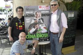 Josema Yuste, Agustín Jiménez y 'Felisuco' invitan a la «carcajada» con 'La cena de los idiotas'