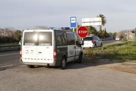 Un repartidor muere al chocar su moto contra una furgoneta en Calvià