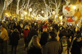 Pimeco critica al Ayuntamiento de Palma por dejar sin luces navideñas a siete zonas comerciales