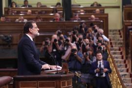 Mariano Rajoy justifica el 155 por el «ataque desleal y peligroso» contra la unidad de España