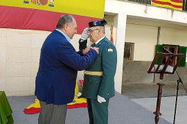La Guardia Civil celebra la virgen del Pilar en la Part Forana