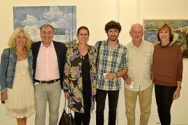 Jorge Azri inaugura Alcúdia Art Center