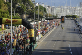 El acceso al centro de la ciudad estará cerrado este domingo por la Palma Marathon Mallorca