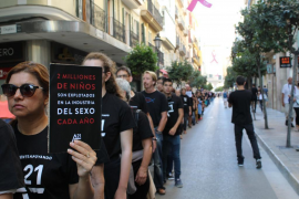 A21 convoca la segunda marcha por la libertad y contra la esclavitud sexual en Palma