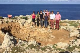 Descubren en Menorca posiblemente el depósito de agua más antiguo de Baleares